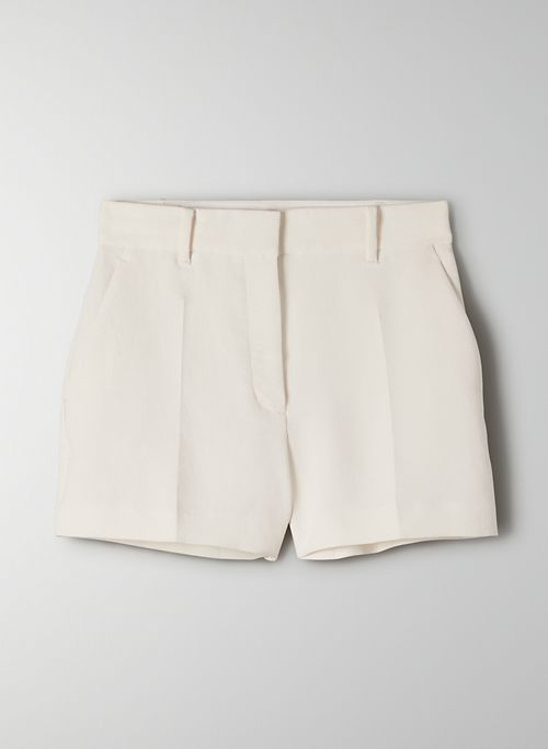 ANTHEM SHORT - High-waisted trouser shorts