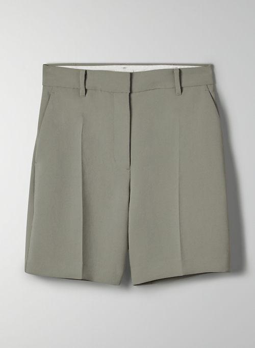 "ANTHEM SHORT 7"" - High-waisted trouser shorts"