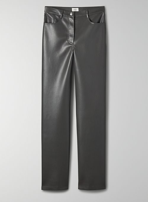 MELINA PANT  - High-waisted Vegan Leather pants