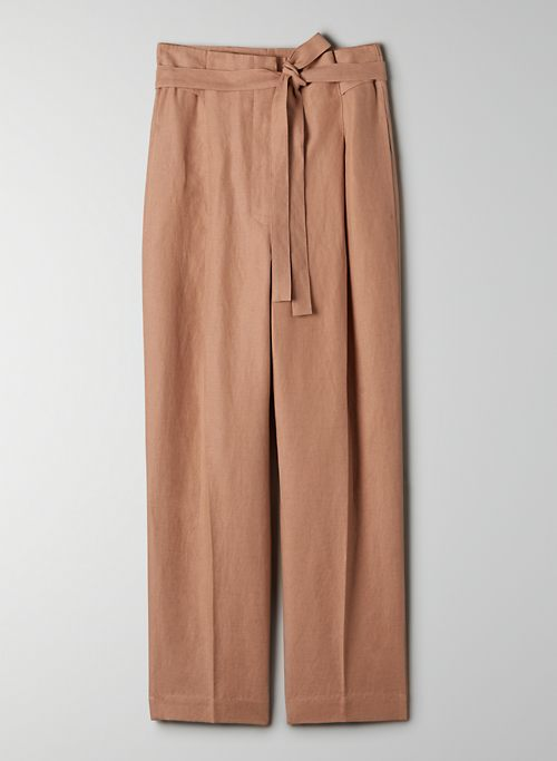 PROPOSAL PANT - High-waisted, pleated pant