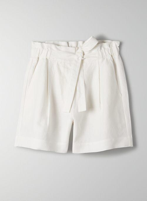 PROPOSAL SHORT - High-waisted paperbag short