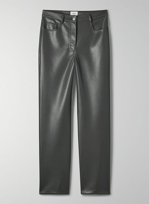 MELINA PANT - High-waisted faux leather pants