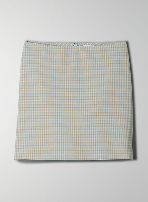 NEW CLASSIC MINI SKIRT - Plaid, A-line mini-skirt