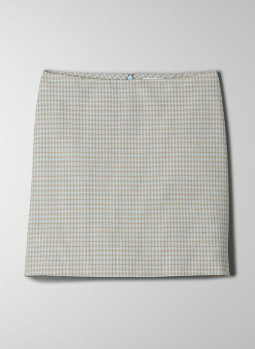 NEW CLASSIC MINI SKIRT - Plaid, A-line mini-skirt