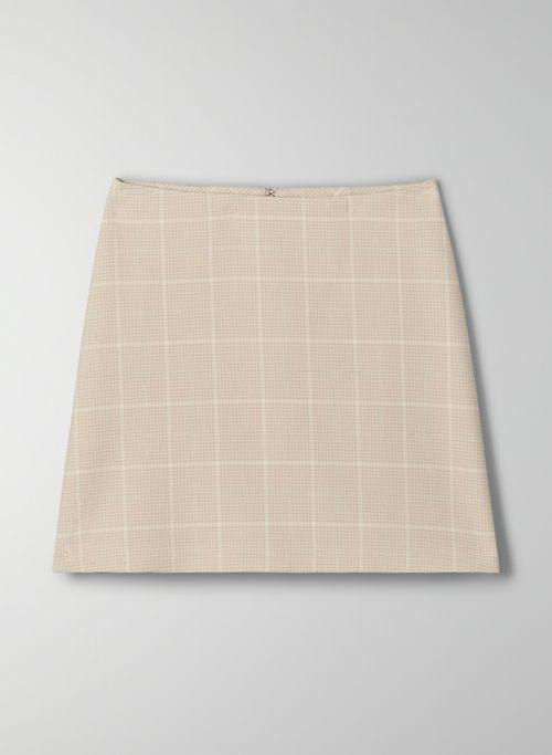 CLASSIC MINI SKIRT - Plaid, A-line mini skirt