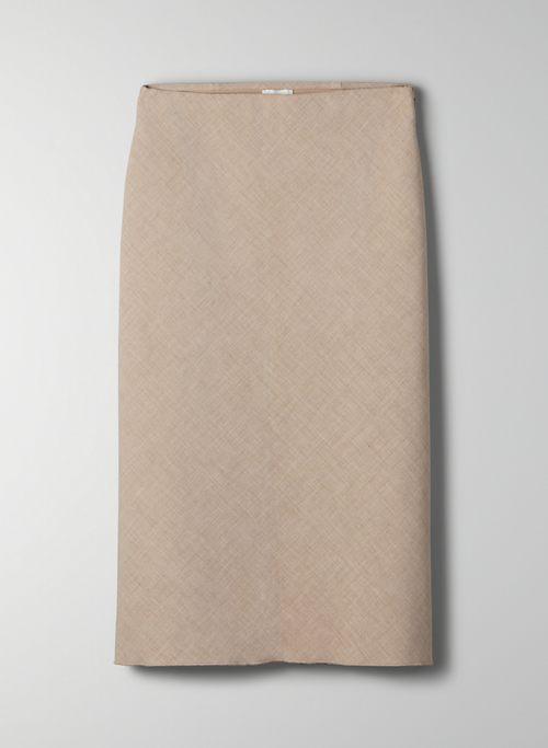 IBIZA SKIRT - High-waisted pencil skirt
