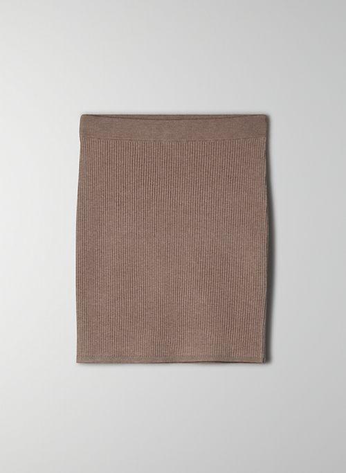 RESO SKIRT - High-waisted mini skirt