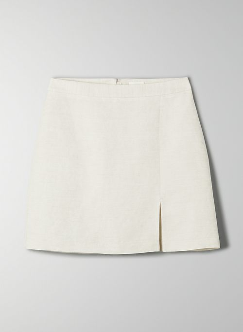 LAYOVER SKIRT - High-waisted, A-line mini skirt
