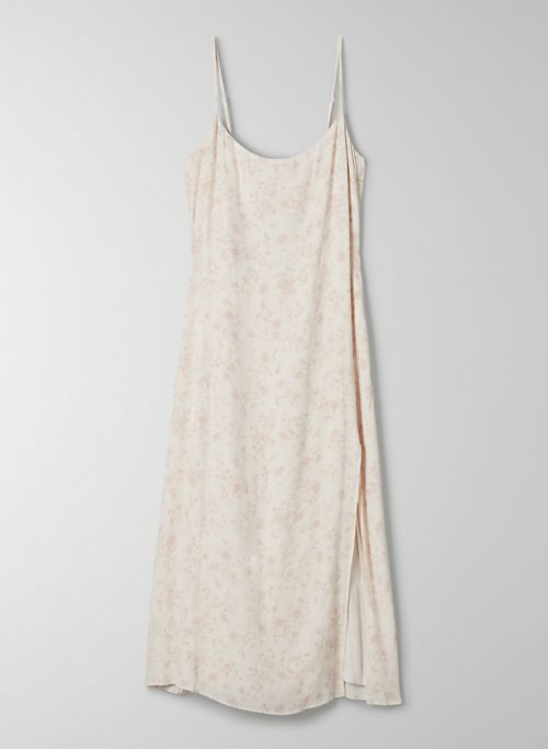 AFFOGATO DRESS - Midi slip dress