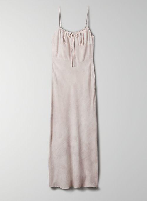 BELLOW DRESS - Ruched bodice slip dress