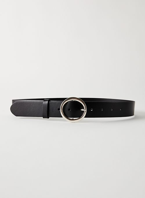 CLASSIC BELT - '60s-inspired leather belt
