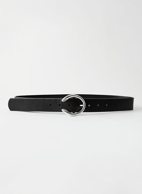 HORSESHOE BELT - Leather jean belt