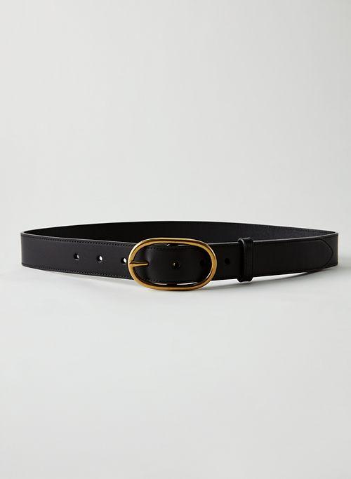 CLASSIC RING BELT - Oval buckle belt