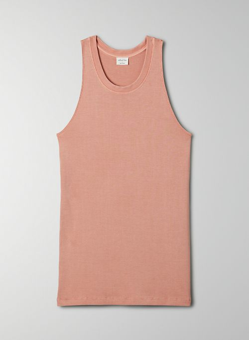 GO-TO TANK - Ribbed tank top