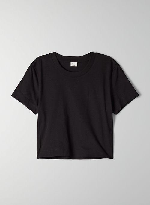 WEEKEND T-SHIRT - Cropped crew-neck t-shirt