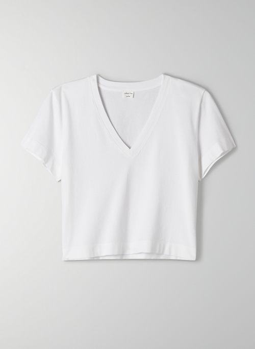 WEEKEND V-NECK T-SHIRT - Boxy-fit, V-neck t-shirt