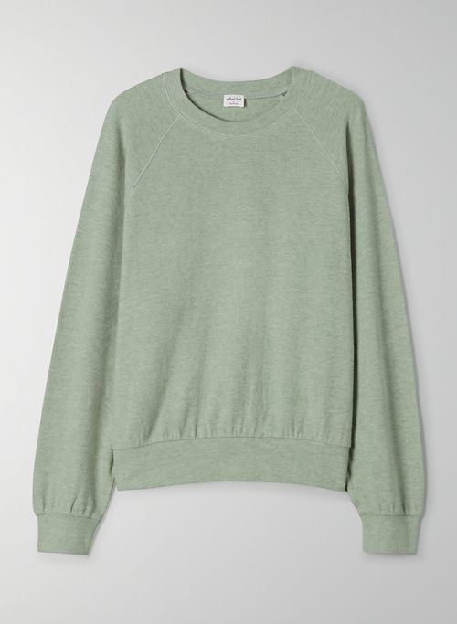 CAMPUS LONGSLEEVE - Relaxed, ribbed long-sleeve t-shirt