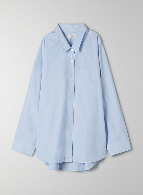 BONFIRE BUTTON-UP - Poplin button up