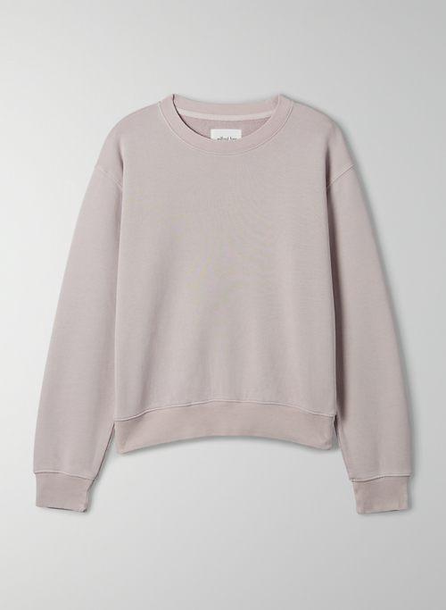 FREE TERRY FLEECE SWEATSHIRT - Organic cotton pullover sweatshirt