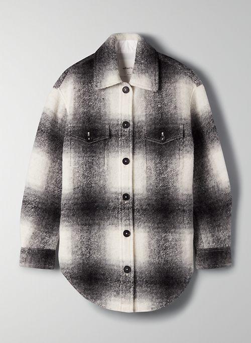 THE GANNA SHIRT JACKET - Relaxed utility shirt jacket