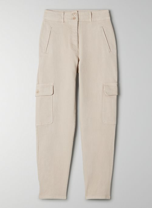 MODERN CARGO PANT - High-waisted cargo pant