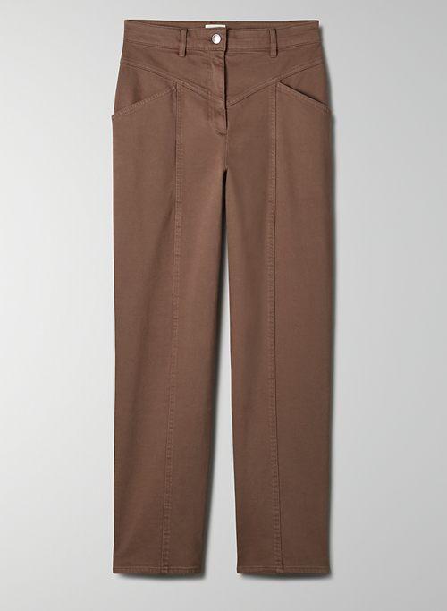 ARCHER PANT - High-waisted , straight leg pant