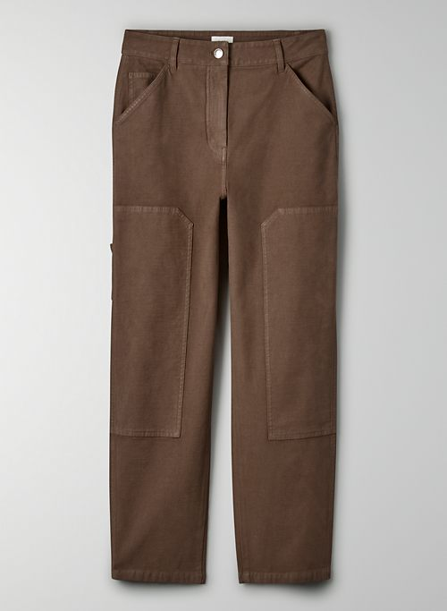 BRENNAN PANT - High-waisted utility pant