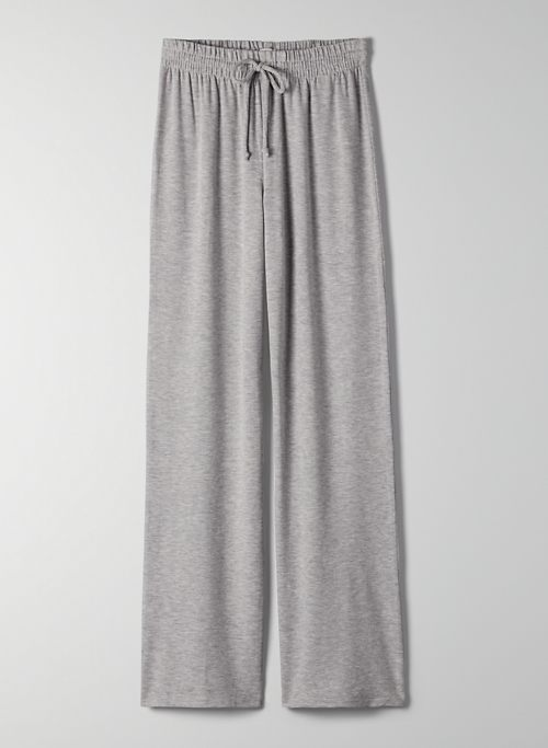 PISCES SWEATPANT - High-waisted, wide-leg sweatpant