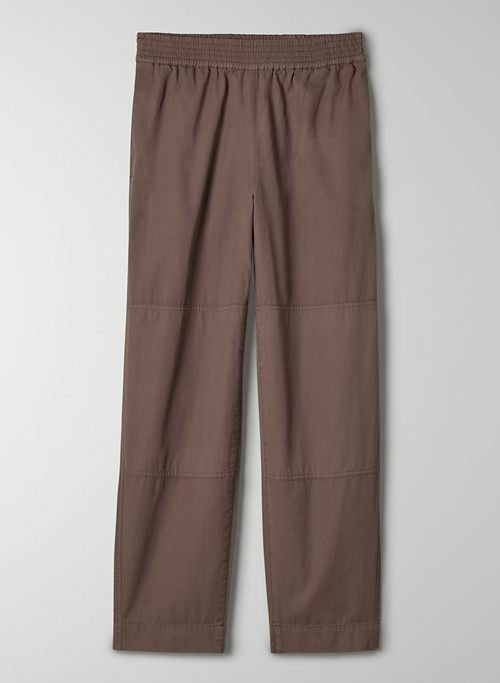 TRAIL PANT - High-waisted, cotton pants