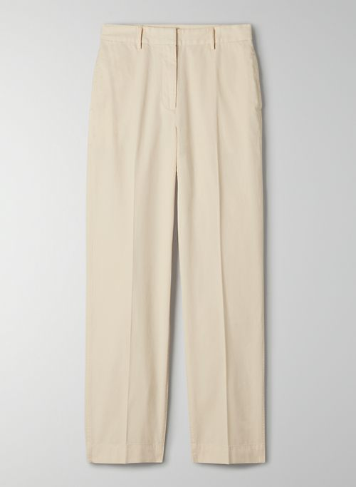 SEQUOIA PANT - High-waisted chino pants