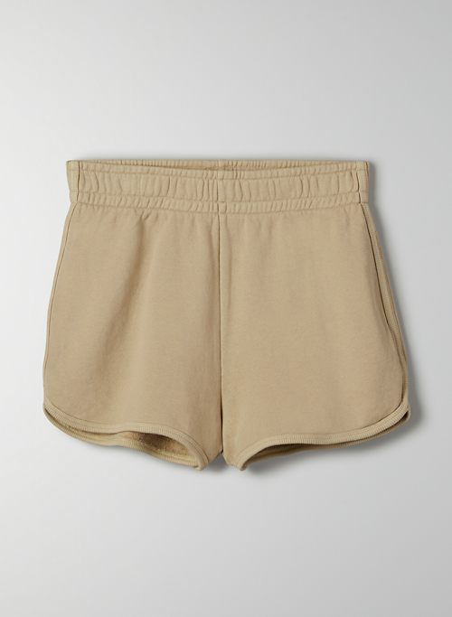 "FREE TERRY FLEECE 2"" SWEATSHORT - High-waisted running short"