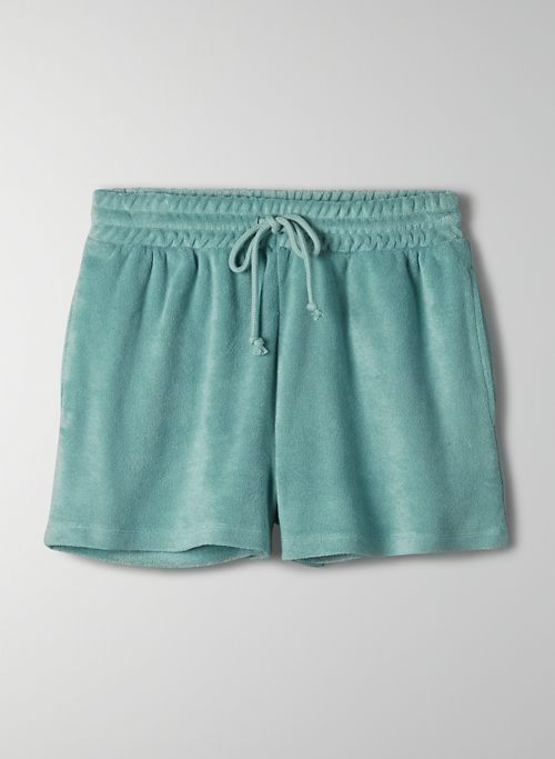 POPSICLE SHORT - High-waisted track shorts