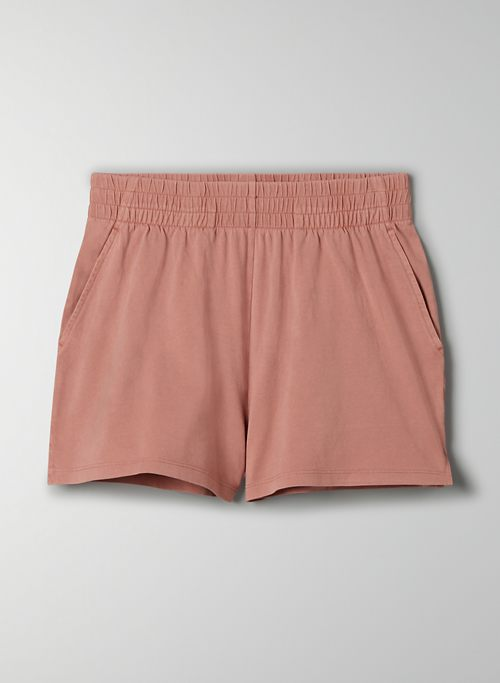 WEEKEND SHORT - High-waisted pull-on shorts