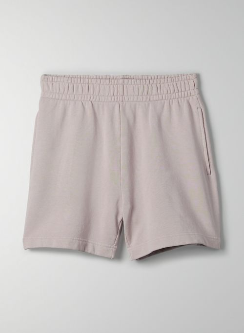 "FREE TERRY FLEECE 5"" SWEATSHORT - High-waisted, organic cotton shorts"