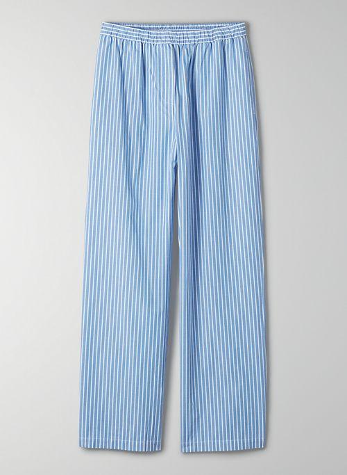 BOARDWALK PANT - High-waisted poplin pants