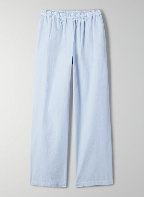 BOARDWALK PANT - High-waisted poplin pants
