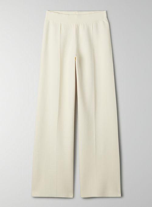 SOUVENIR PANT - High-waisted, wide-leg pant