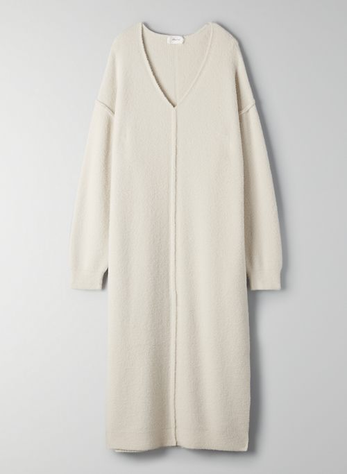HUSH KNIT V-NECK DRESS