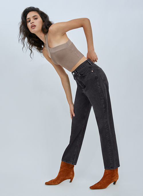 90S JEAN - Mid-rise relaxed jeans