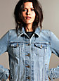 Denim Forum THE NINA DENIM JACKET | Aritzia