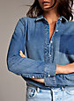 Denim Forum THE EX BOYFRIEND SHIRT | Aritzia