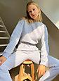 Tna COZYAF PERFECT SHRUNKEN SWEATSHIRT | Aritzia