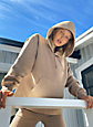 Tna COZY FLEECE BOYFRIEND HOODIE | Aritzia