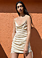 Wilfred ONLY RUCHED SLIP DRESS   Aritzia