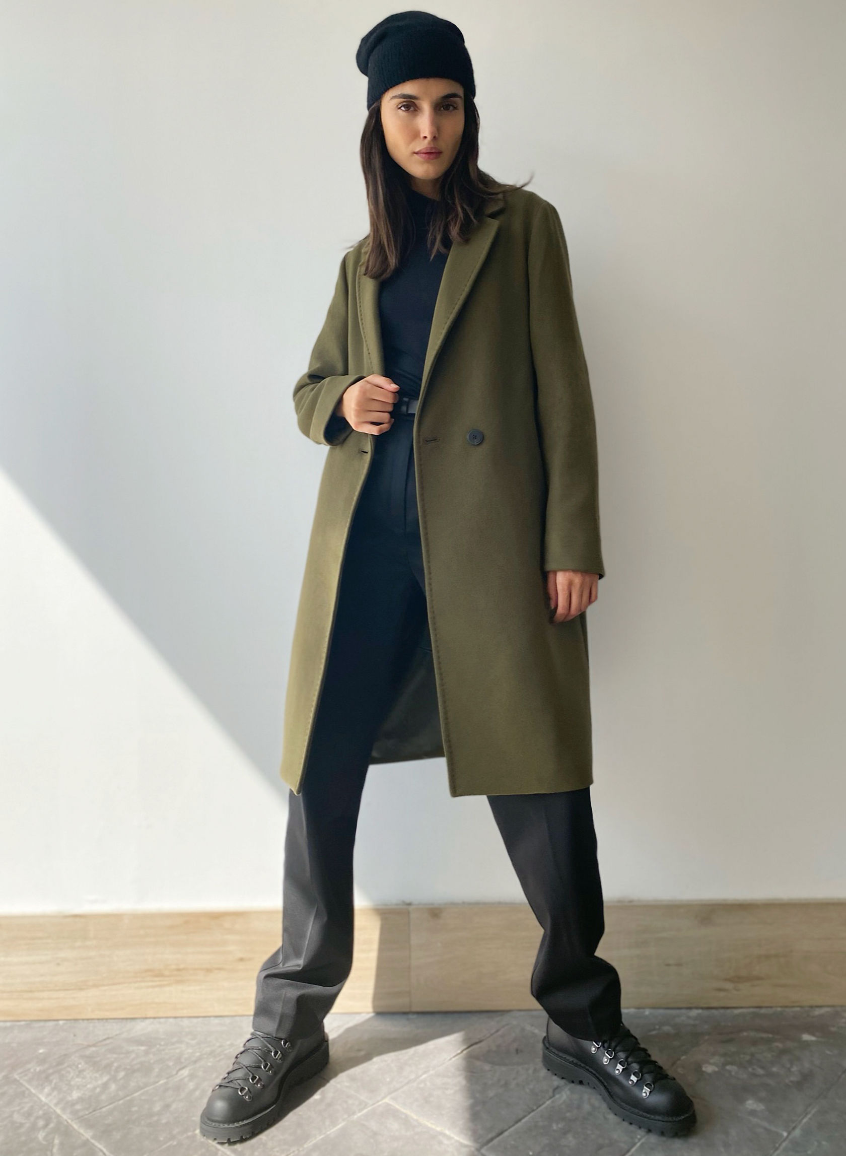 THE STEDMAN COAT - Lined, wool coat