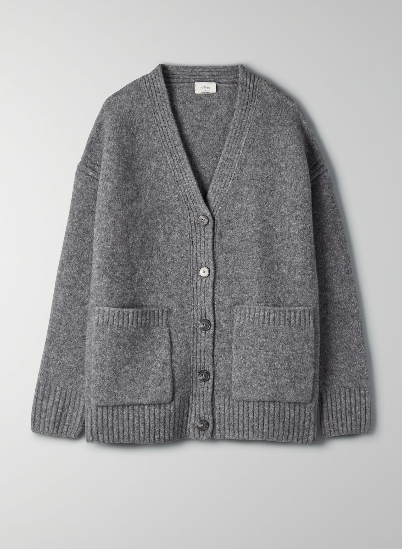 PISA CARDIGAN - Merino wool cardigan