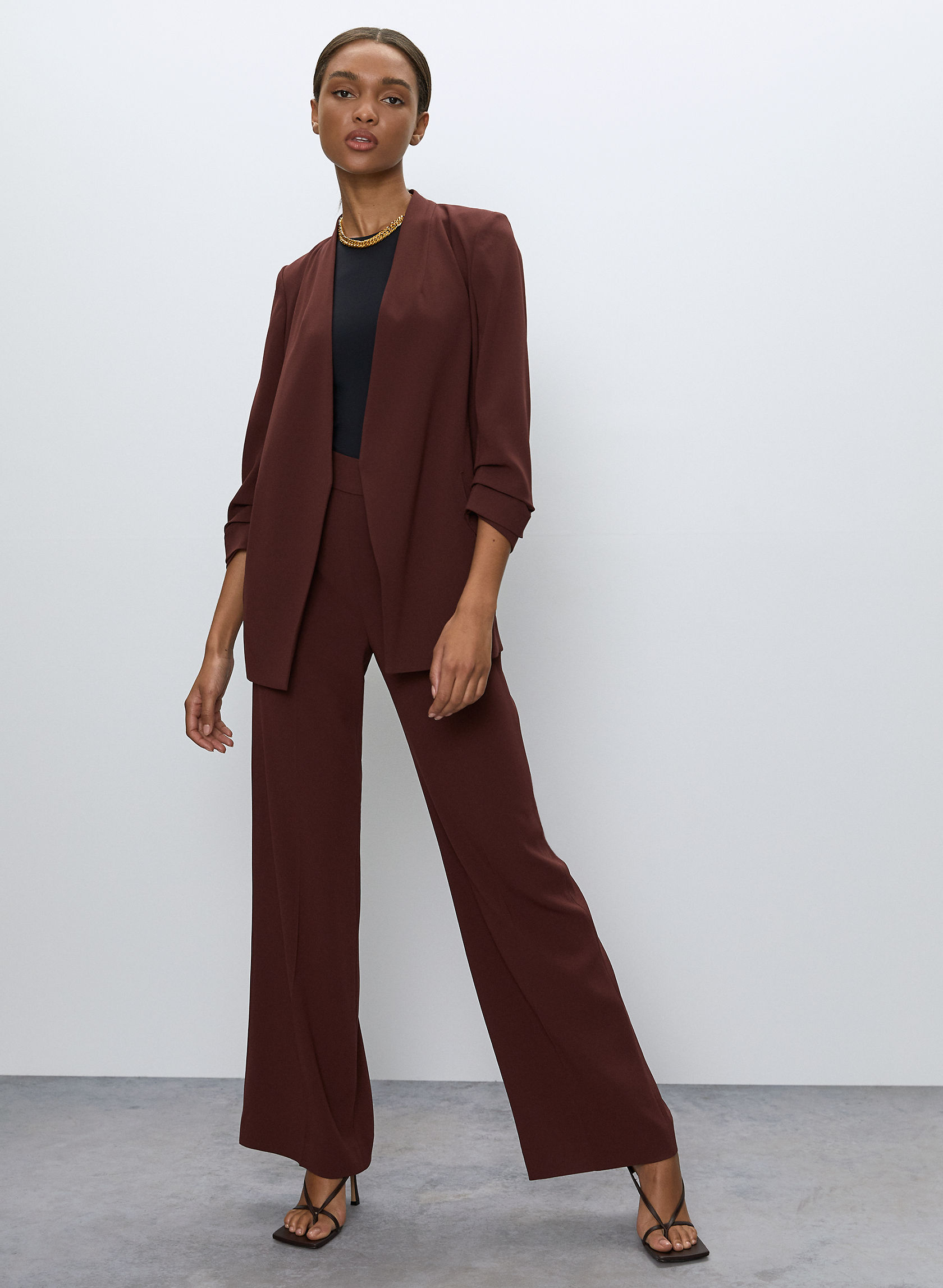 POWER BLAZER - Shawl-collar blazer
